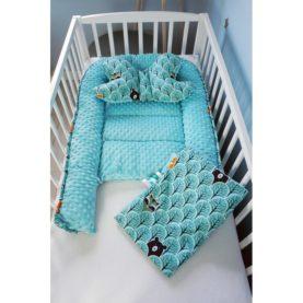 Nido, cuscino e copertina per neonato FORESTA