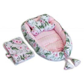 Nido, cuscino e copertina per neonato FIORI