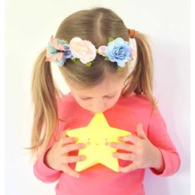luce notturna yellow star a little lovely company